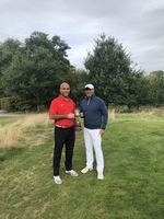 Mayur - Golfer of the Year and Hitesh Patel - Matchplay Champion (Stand-In)